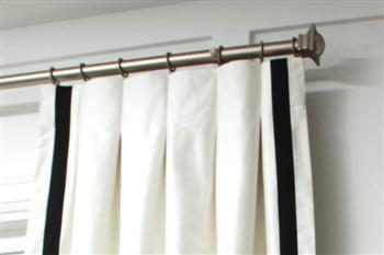 how to make pleated curtains instructions