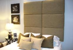 Queen Headboard - Six Lorna Panels